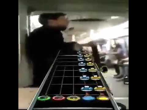 Guitar Hero On A Train