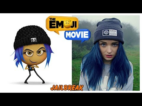 The Emoji Movie Characters in Real Life
