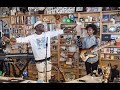 watch he video of Wyclef Jean: NPR Music Tiny Desk Concert