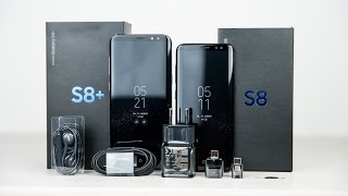 Samsung Galaxy S8 Unboxing and first look english/ENG 4k