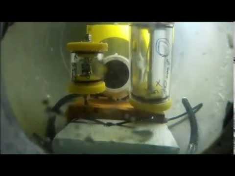 FishingROV #26 DIY ROV. Camera Housing pressure test 2