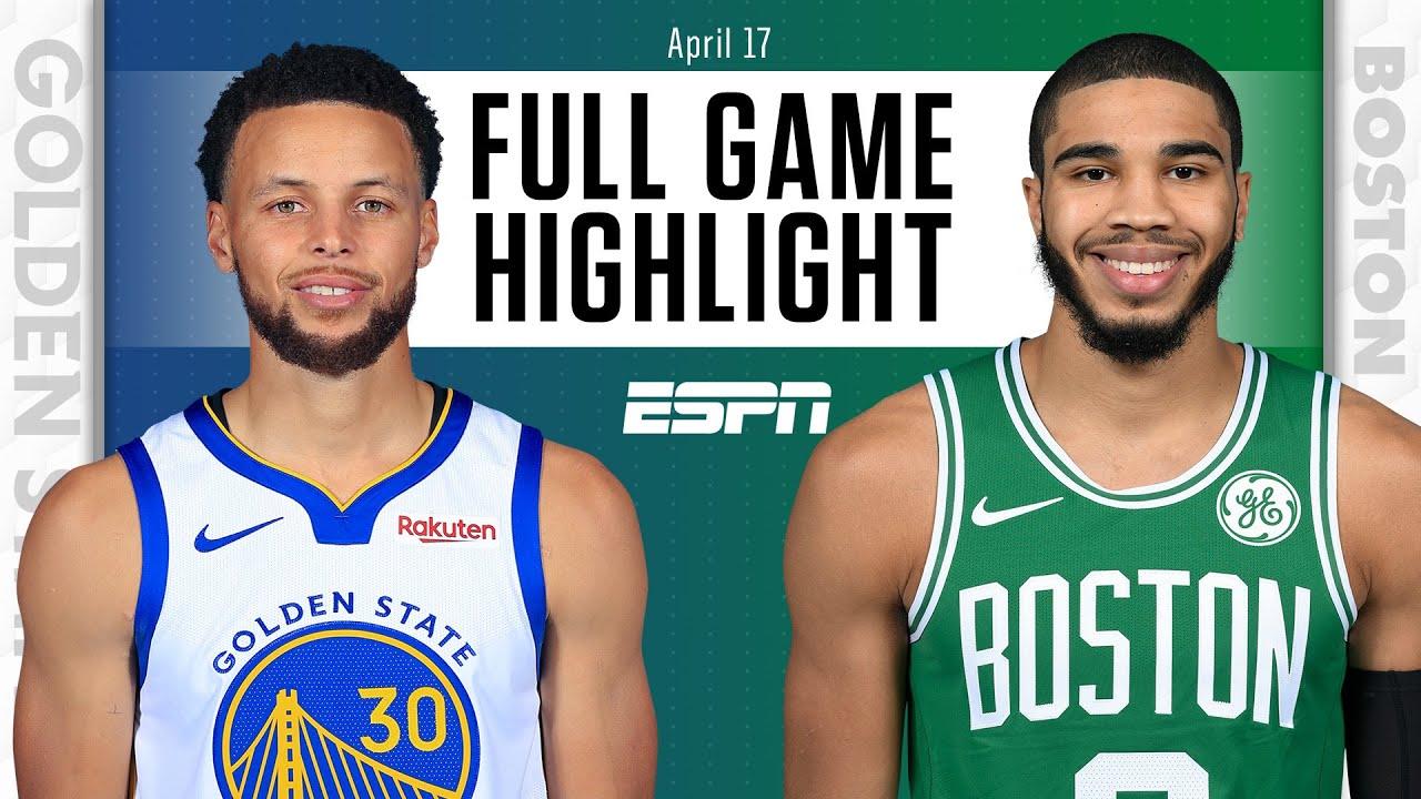 Warriors vs. Celtics - Game Recap - April 17, 2021 - ESPN