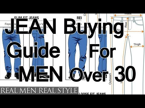 Buying Jeans For Men Over Age 30 | How To Buy Denim For Older Guys