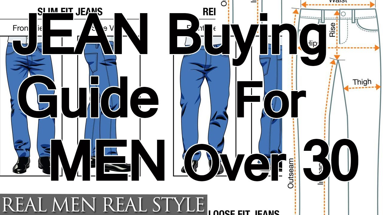 Buying Jeans For Men Over Age 30 - How To Buy Denim For Older Guys ...
