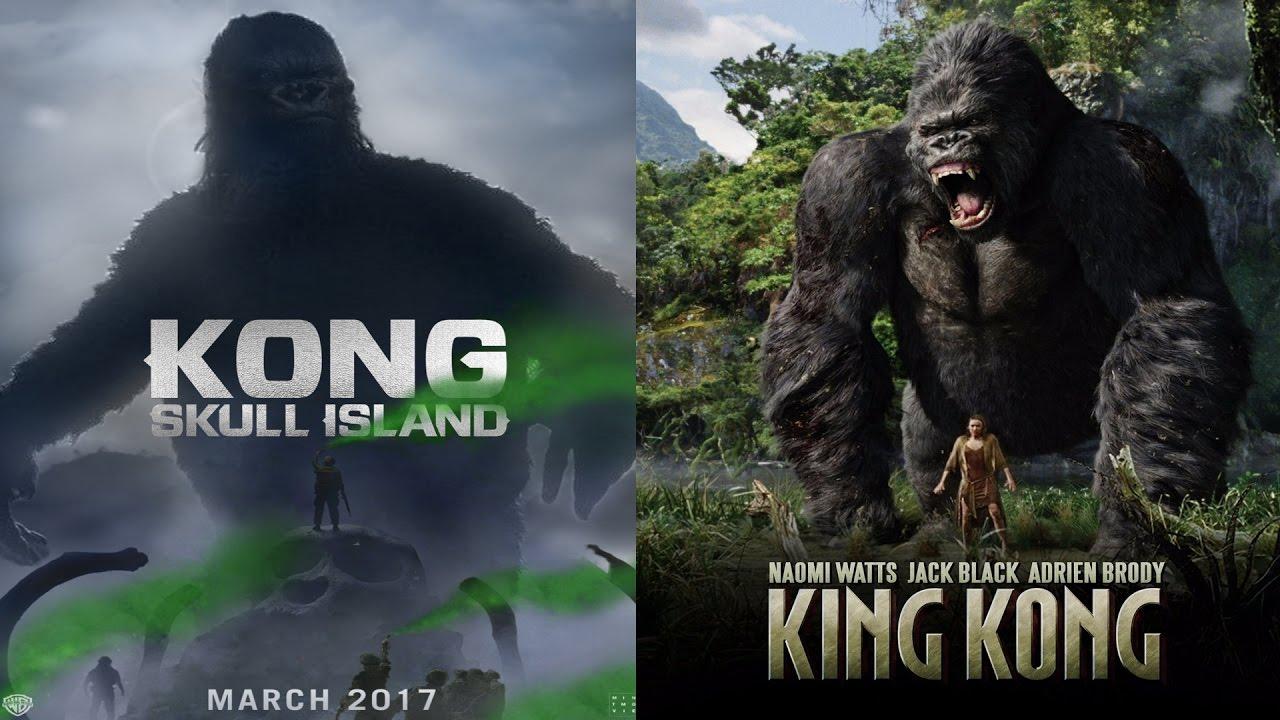 Kong Skull Island 2017 vs King Kong 2005: The Differences - YouTube