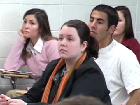 Marilyn Manson Teaches a Class