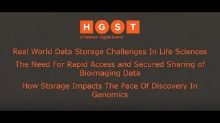 Infocast Part 1: Real World Life Science Workflows