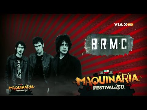 Black Rebel Motorcycle Club - Live At Maquinaria Festival - Santiago De Chile ( 11/12/2011 ) HD 720p