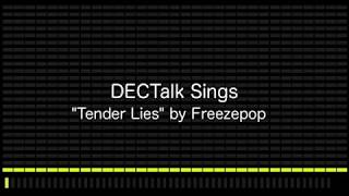 "Computer Sings ""Tender Lies"" by Freezepop"