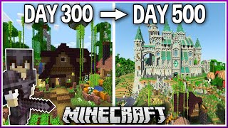 I Played Minecraft for 500 Days.. (1.16 Survival)