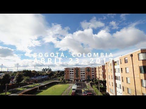 Timelapse Bogotá, Colombia