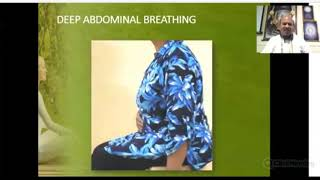 Deep Abdominal Breathing or Rhythmic Yogic Breathing Practice by Shri N J Reddy, Founder YPV