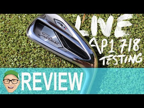 Mark Crossfield Live TESTING TITLEIST AP1 718 IRONS
