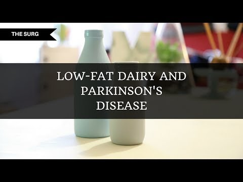 Low-fat dairy and parkinson's disease