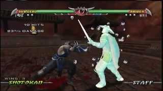 Mortal Kombat Deception - Sub Zero Arcade Ladder (XBOX)
