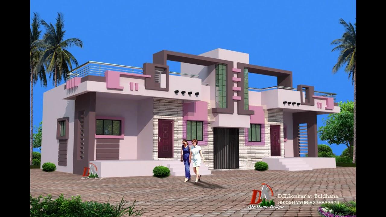 60x40 Plot 2 Brothers House Design
