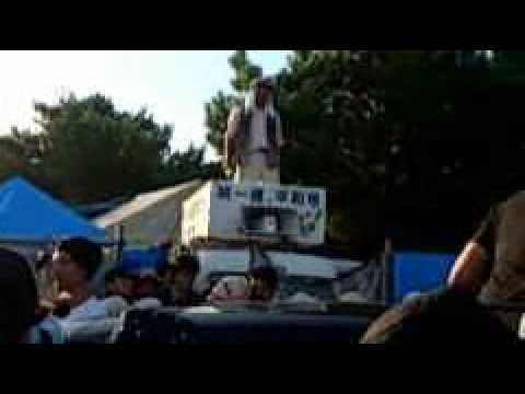 沖縄サヨクによる防衛局職員への暴行 @高江ヘリパッド