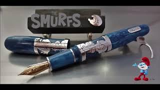 """The Smurfs"" - Luxury Collection / Garcia-Deschacht Exclusive Custom Pens"