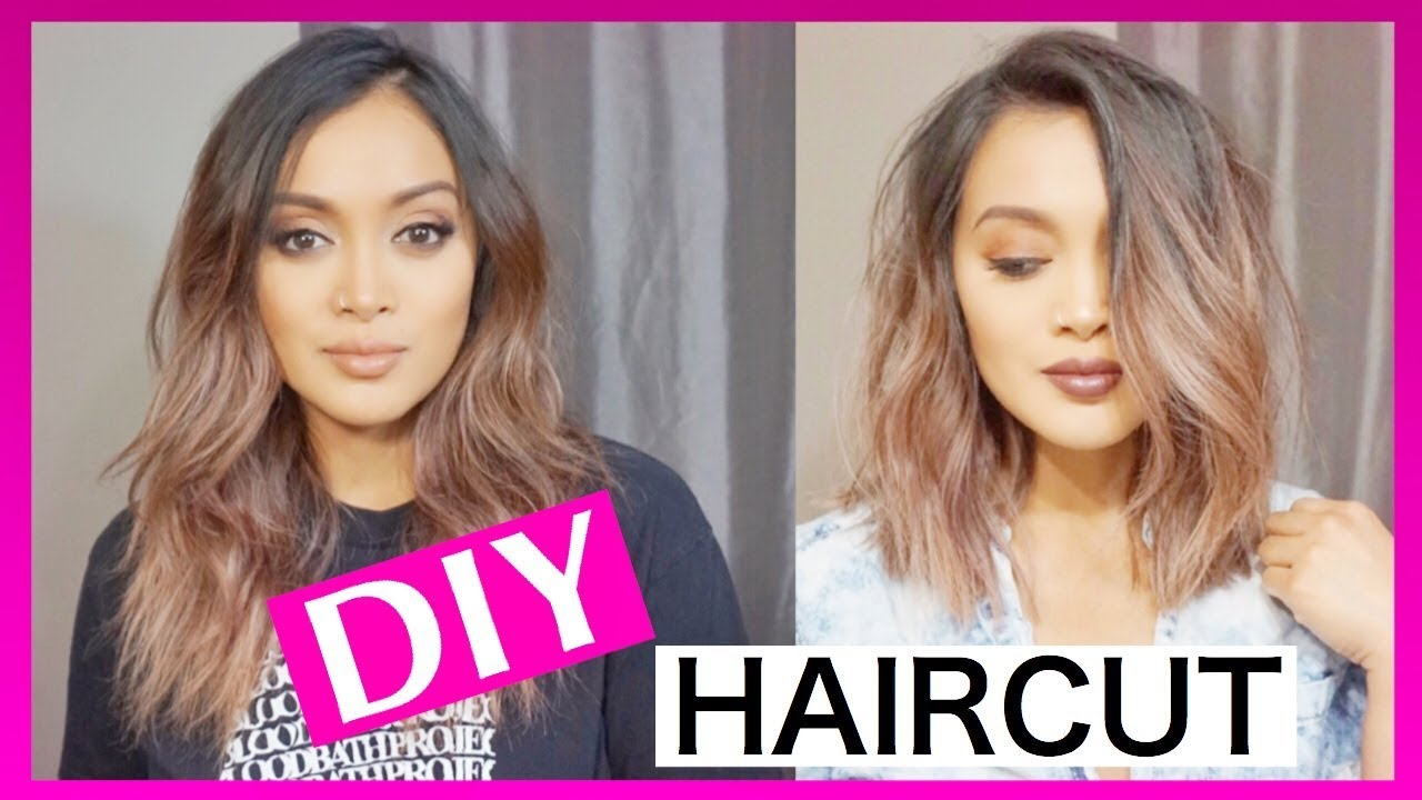 how to cut and style short hair how to cut your own hair and 7113 | maxresdefault