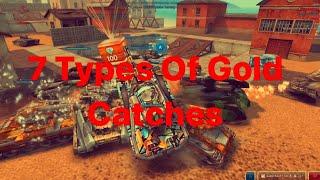 7 Types Of G๐ld Catchers On MyTanks