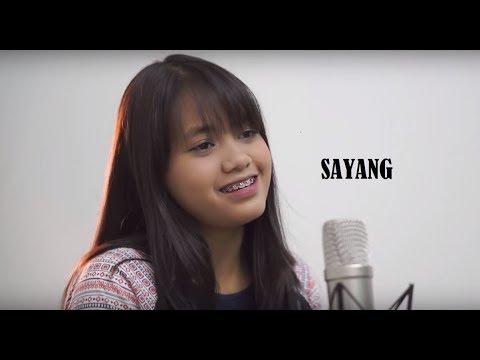 Sayang - Hanin Dhiya (Via Valen Cover) Lyric Video