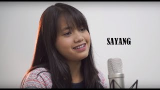 Sayang - Hanin Dhiya (Via Valen Cover) Lyric Video
