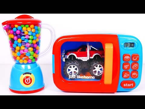 Thumbnail: Monster Truck Candy Microwave and Much More Toy Vehicles for Kids