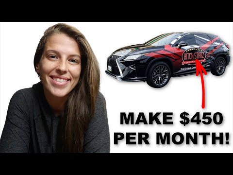 The Easiest Side Hustle to Make Extra Money! | Make Money With Your Car