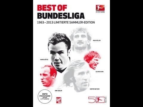 Best of Bundesliga - Die offizielle DVD-Box der DFL zum 50 jährigen Jubiläum der Fußball Bundesliga