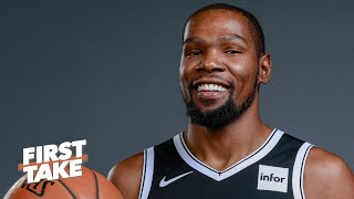 Kevin Durant ranks 3rd on First Take's Primetime Players list