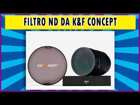 K&F Concept | Review do filtro ND2-ND32 - filtro variável de densidade neutra