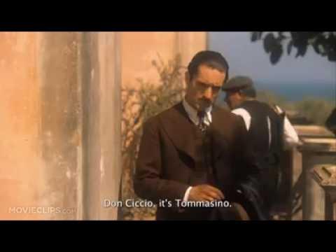 Vito corleone killing to Ciccio