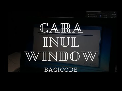 Cara Install Ulang Windows - Install Windows 7