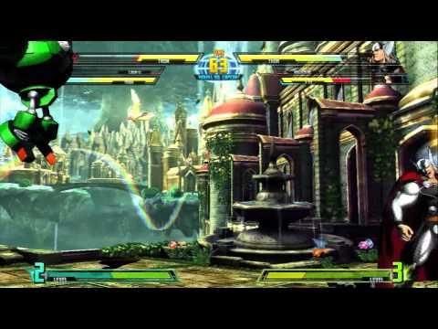 Marvel Vs. Capcom 3 Gameplay: Tron Bonne...