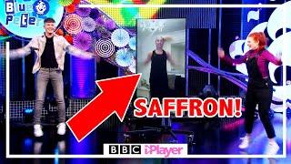 Saffron Barker LIVE WORKOUT w Adam &amp Lindsey