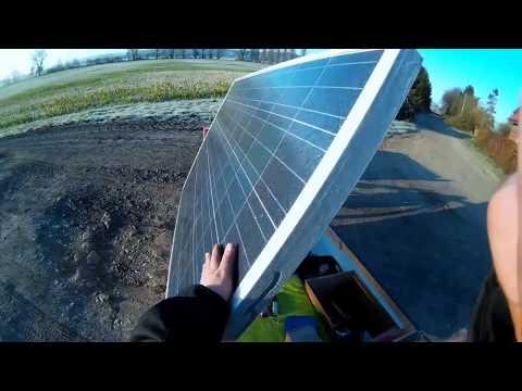 Solar Ebike : COLD 2 day trip !