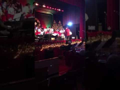 Logan Jones from Chester PA - Overbrook school for the blind Christmas show