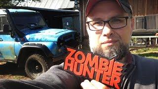 УАЗ Zombie Hunter - ставлю диван от БМВ и люстру. Мини обзор