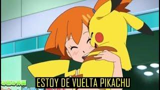 !Nuevo Adelanto! La Felicidad De Pikachu Al Ver A Misty !Pokemon Sol y Luna!