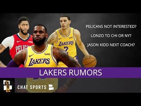 Lakers Rumors: Anthony Davis Trade Latest, Jason Kidd As Next Coach,  Kyrie Irving Rumors?