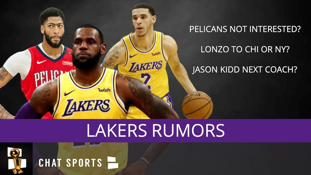 421f67469c2 Lakers Rumors: Anthony Davis Trade Latest, Jason Kidd To Replace Walton,  Lonzo Ball Not Going To NOLA?