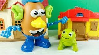 Patates Adam Tosbik Şarkı Söylüyorlar Niloya Tosbik Çizgi Film Eğlenceli Videolar
