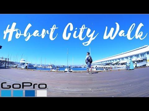 Hobart City Walk || Tasmania 2018 || Australia|| GoProHero4Black