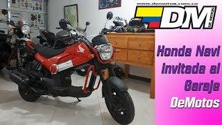 Honda Navi en DeMotos - prueba y reseña de Juan Carlos Posada