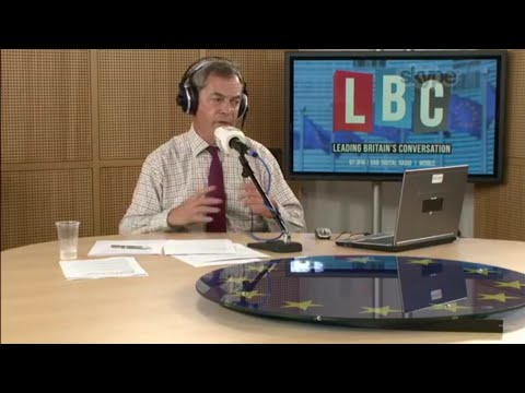 The Nigel Farage Show: The Tory DUP Deal. Live LBC - 27th June 2017