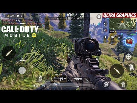 COD Mobile ULTRA GRAPHICS Gameplay! | 18 Kills Solo VS Squad | Call Of Duty Mobile Battle Royale