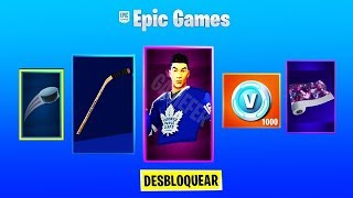 ICE HOCKEY SKINS ARE BEAUTIFUL! BATTIAMO FNATIC JARL? FORTNITE LIVE ITA