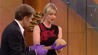 Ivanka Trump Holds a Human Brain for the First Time