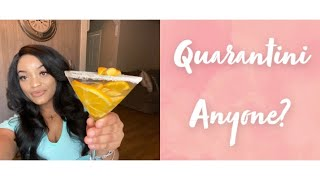 How to make a Quarantini Drink: My recipe:When stuck at Home