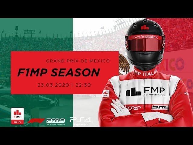 F1MP | CLOSING SEASON #7 | MESSICO GRAND PRIX FMP ITALIA
